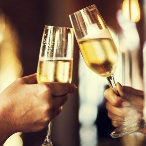 Champagneprovning för två i Göteborg