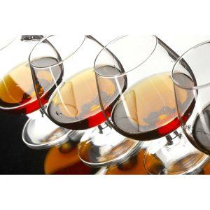 Cognacprovning för två