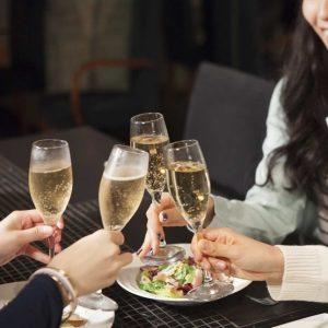 Middag och Champagneprovning