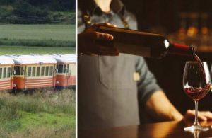 Tågresa med vinprovning & middag