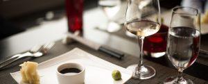 Vin & mat i kombination